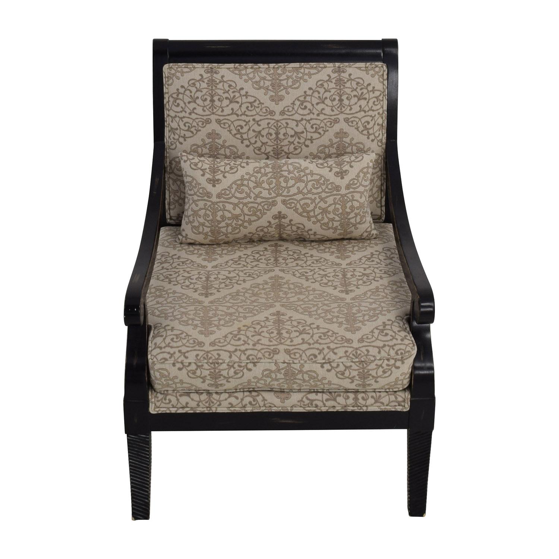 shop Jonathan Louis Fernand Beige Accent Chair Jonathan Louis Accent Chairs