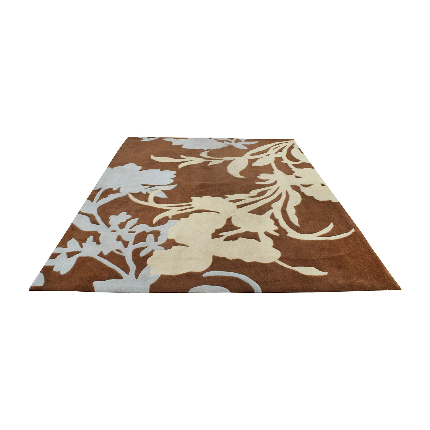NuLOOM NuLOOM Hand-Hooked Brown Wool Rug for sale