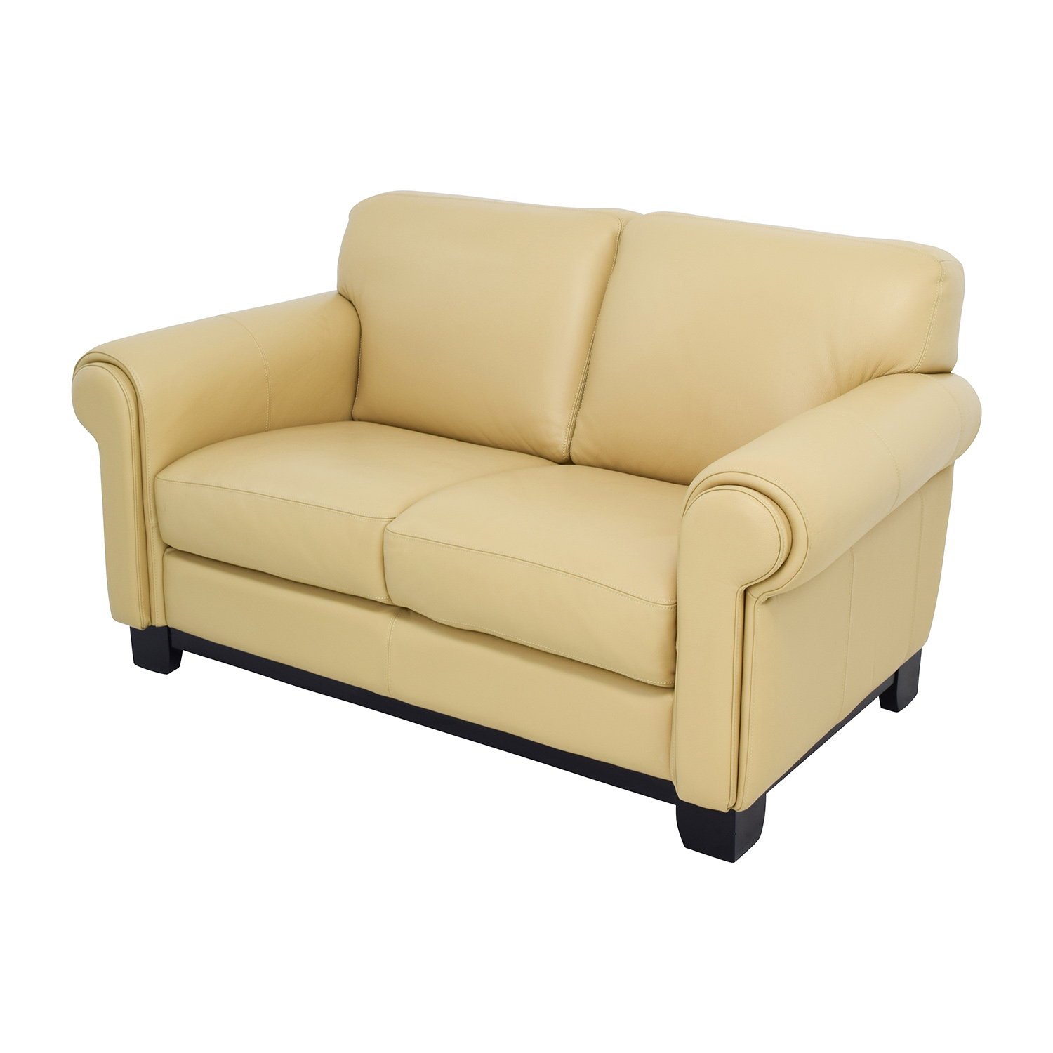 Chateau Dax Furniture Reviews: Chateau D'Ax Chateau D'Ax Beige Leather Two-seat