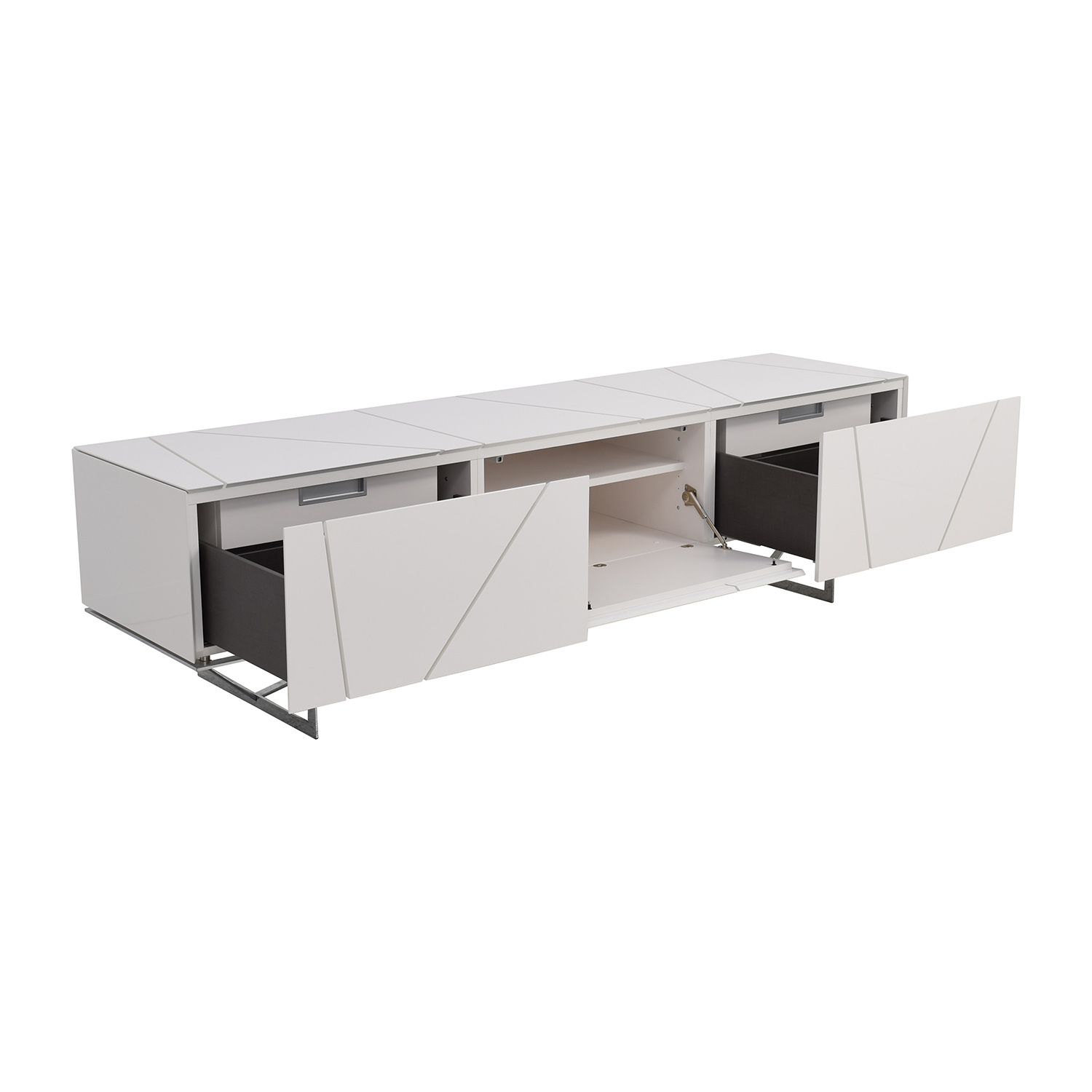 72 off ligne roset ligne roset lines sideboard storage. Black Bedroom Furniture Sets. Home Design Ideas