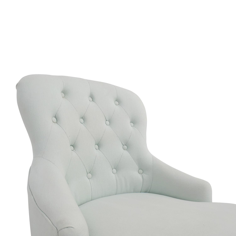 shop Safavieh Madeline Robin Blue Arm Chair Safavieh Accent Chairs