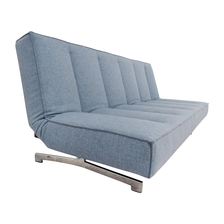 35 Off Cb2 Cb2 Frost Flex Sleeper Sofas