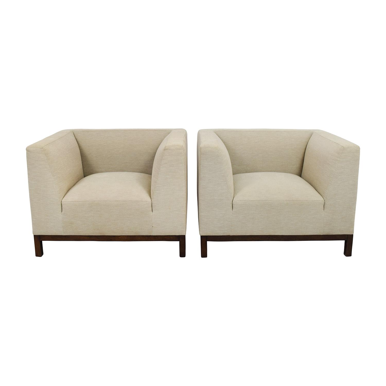 Calvin Klein Calvin Klein Squared Beige Armchairs price