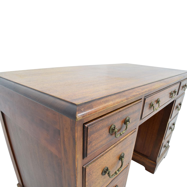 Taylor Made Furniture Taylor Made Furniture Solid Wood Executive Desk nj
