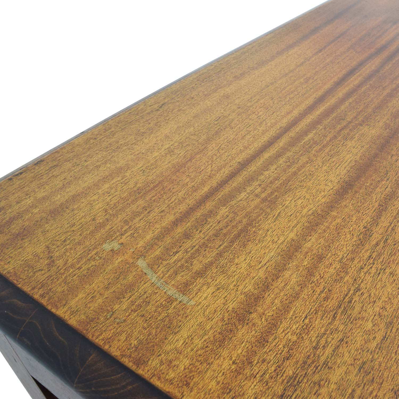 Taylor Made Furniture Taylor Made Furniture Solid Wood Executive Desk brown
