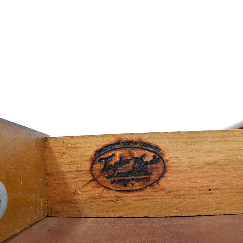 Taylor Made Furniture Taylor Made Furniture Solid Wood Executive Desk dimensions