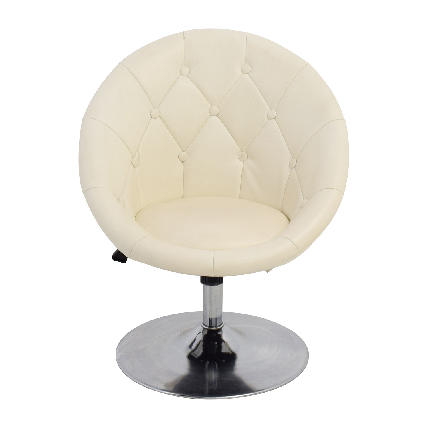 59% OFF - Coaster Fine Furniture Coaster Tufted White ...