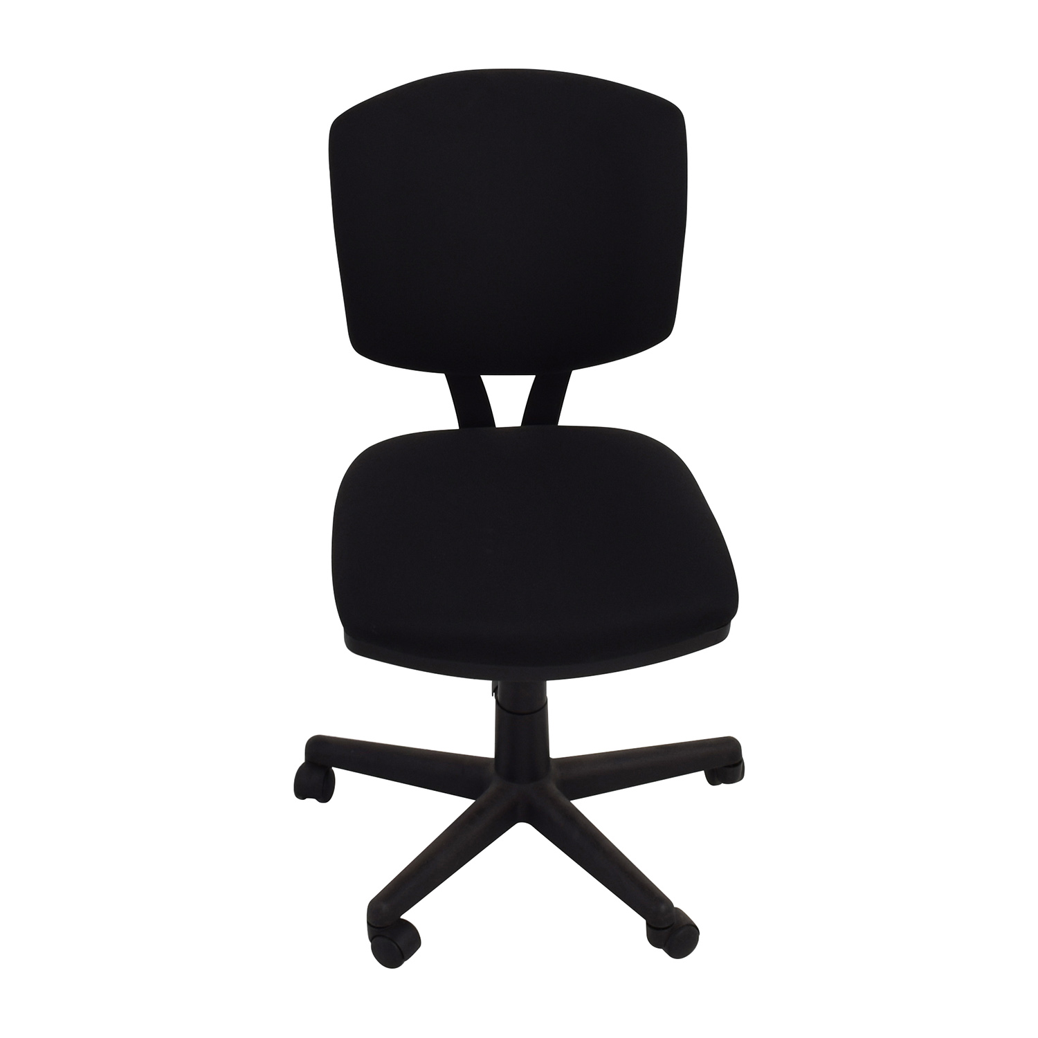 buy Black Adjustable Office Chair  Home Office Chairs