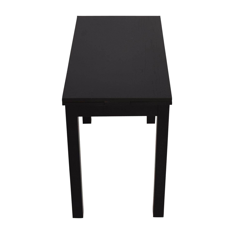 buy IKEA IKEA Extendable Black Table online