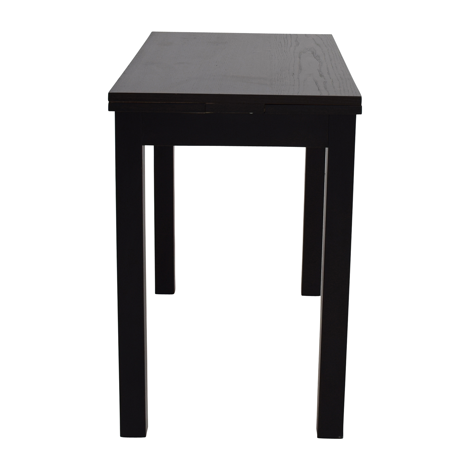 Ikea Extendable Black Table