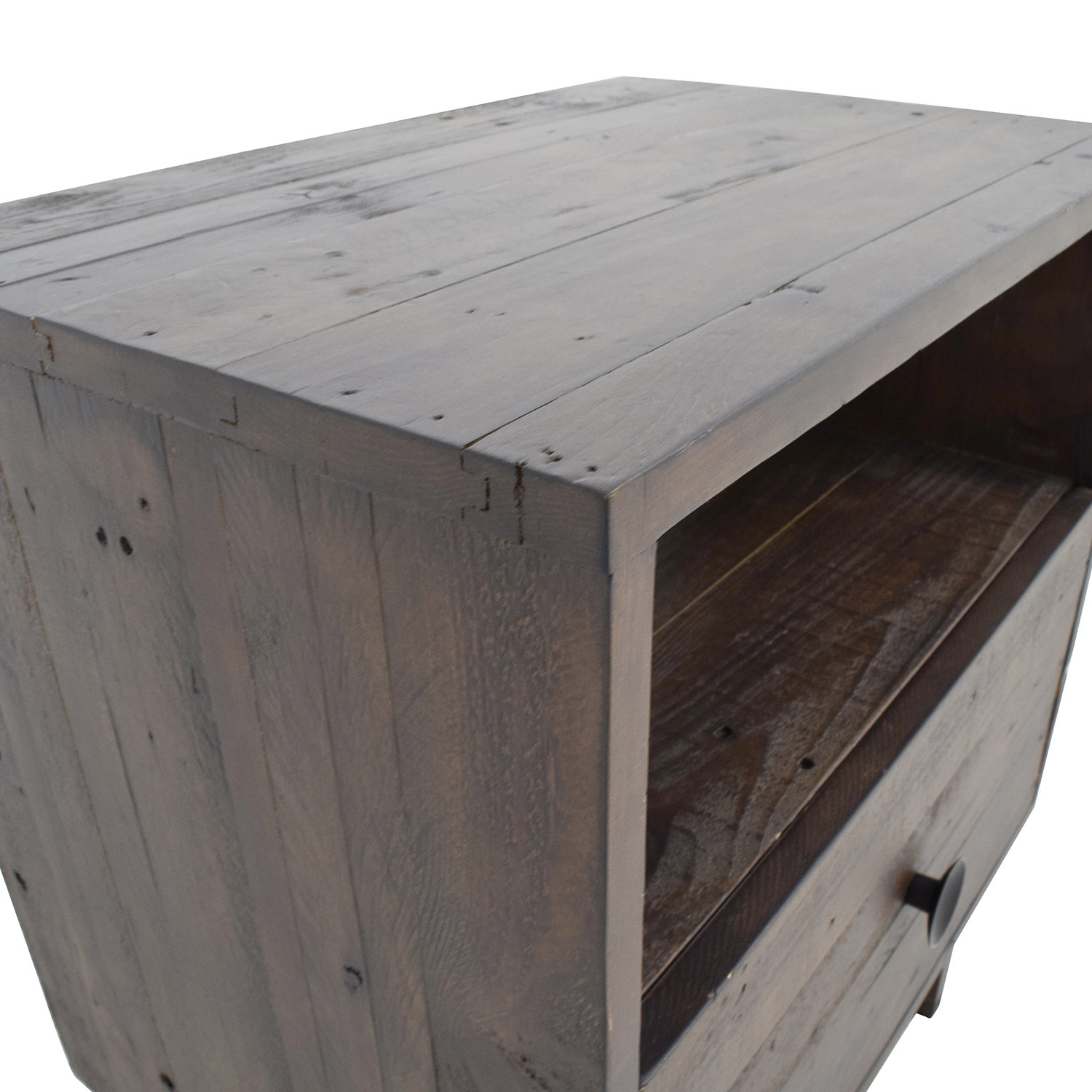 68 Off West Elm West Elm Emmerson Reclaimed Wood Nightstand Tables