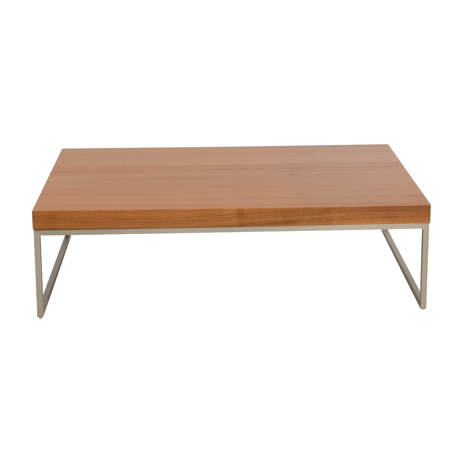 82% OFF - BoConcept BoConcept Lugomatte Oak Veneer Coffee Table ...