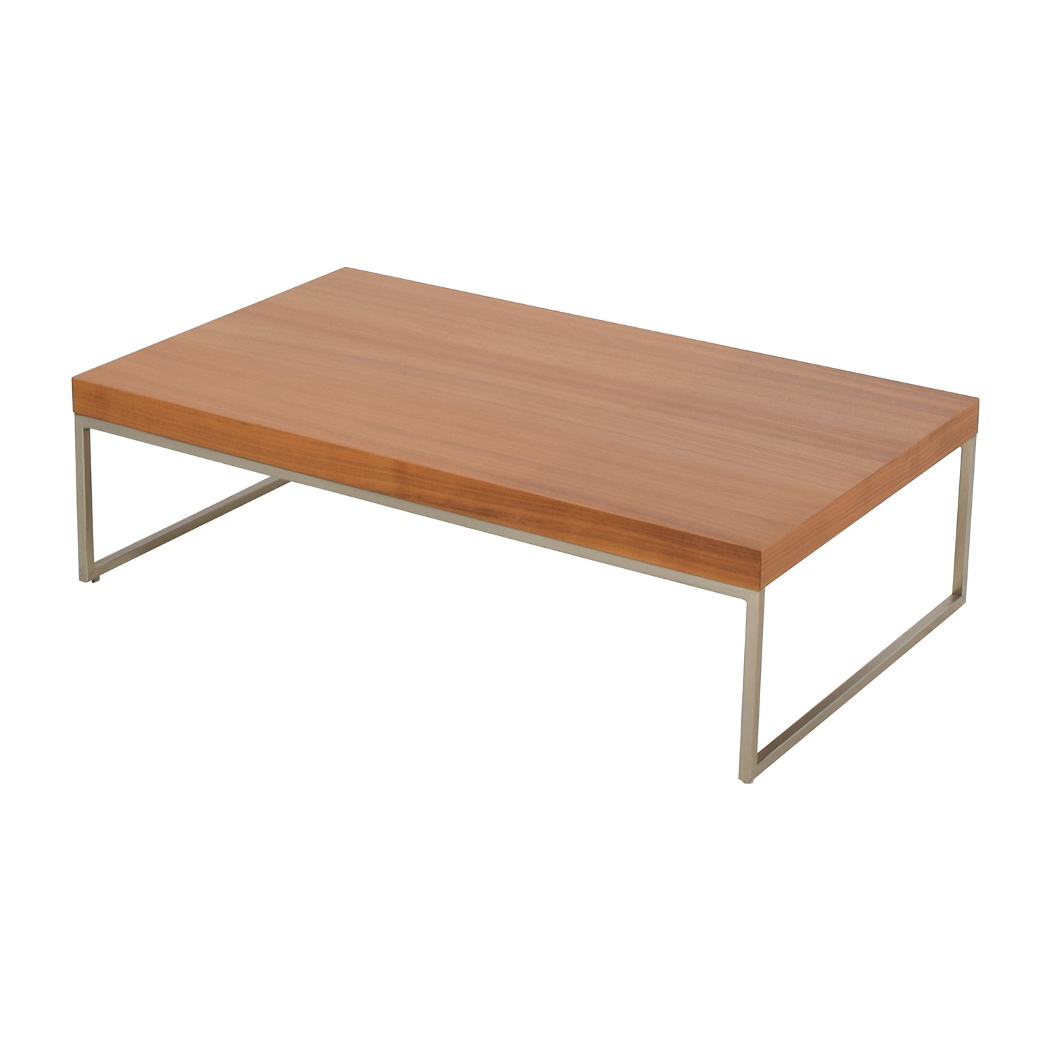 82% OFF BoConcept BoConcept Lugomatte Oak Veneer Coffee Table