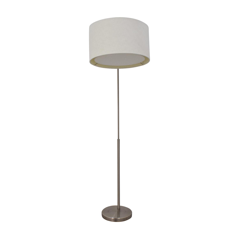 Custom designer second hand on a budget for Cb2 signal floor lamp