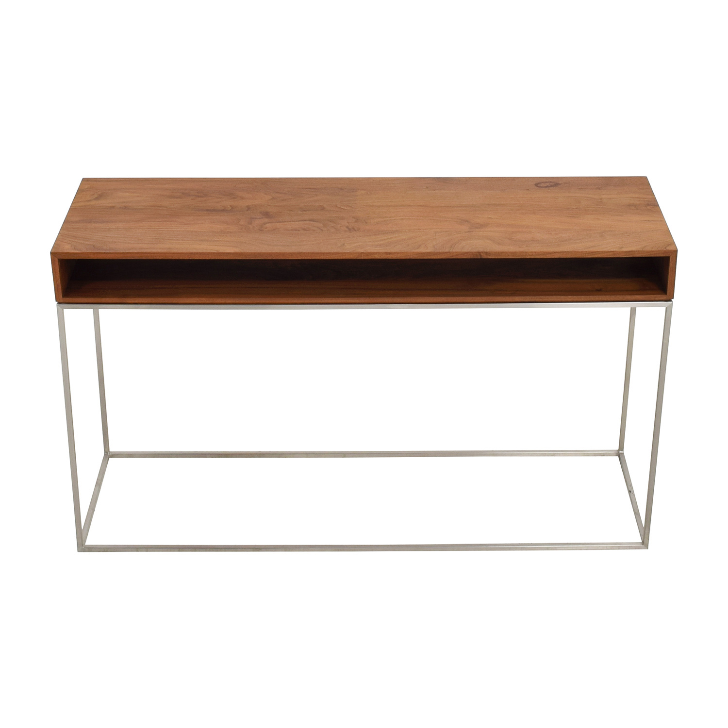 CB2 CB2 Wood and Metal Frame Console Table nj