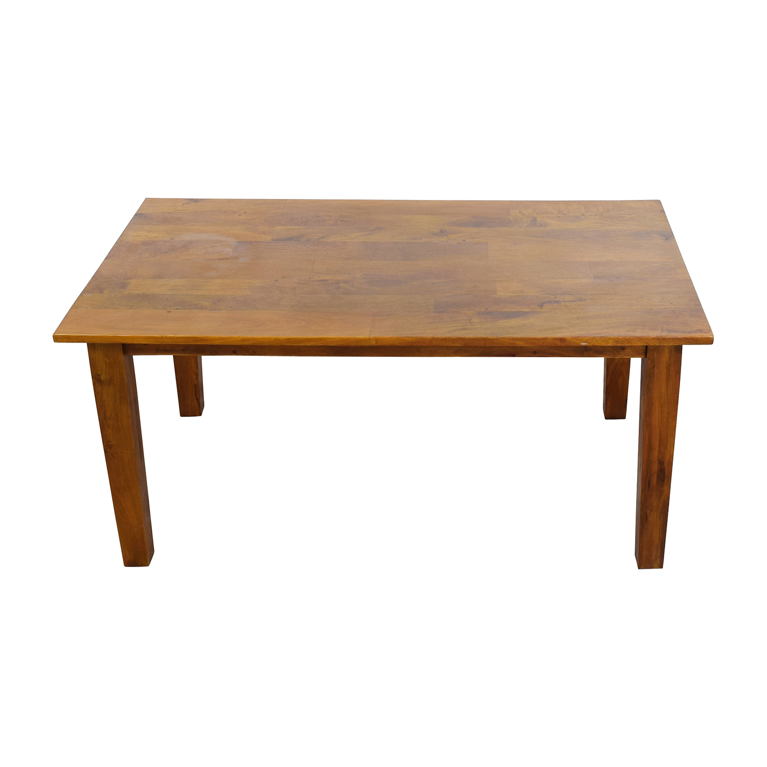 buy Crate & Barrel Solid Wood Rustic Dining Table Crate and Barrel Dinner Tables