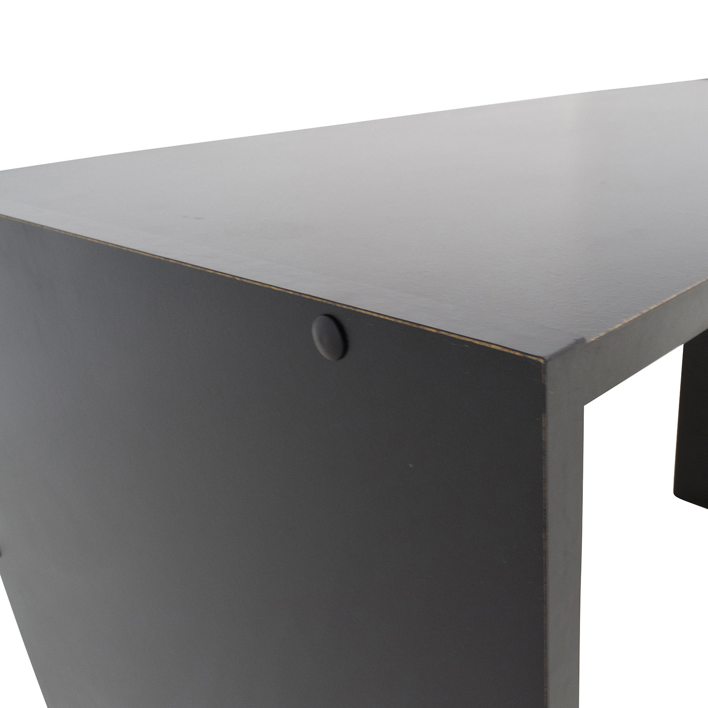 buy Mainstays Mainstays Black Desk with Storage online