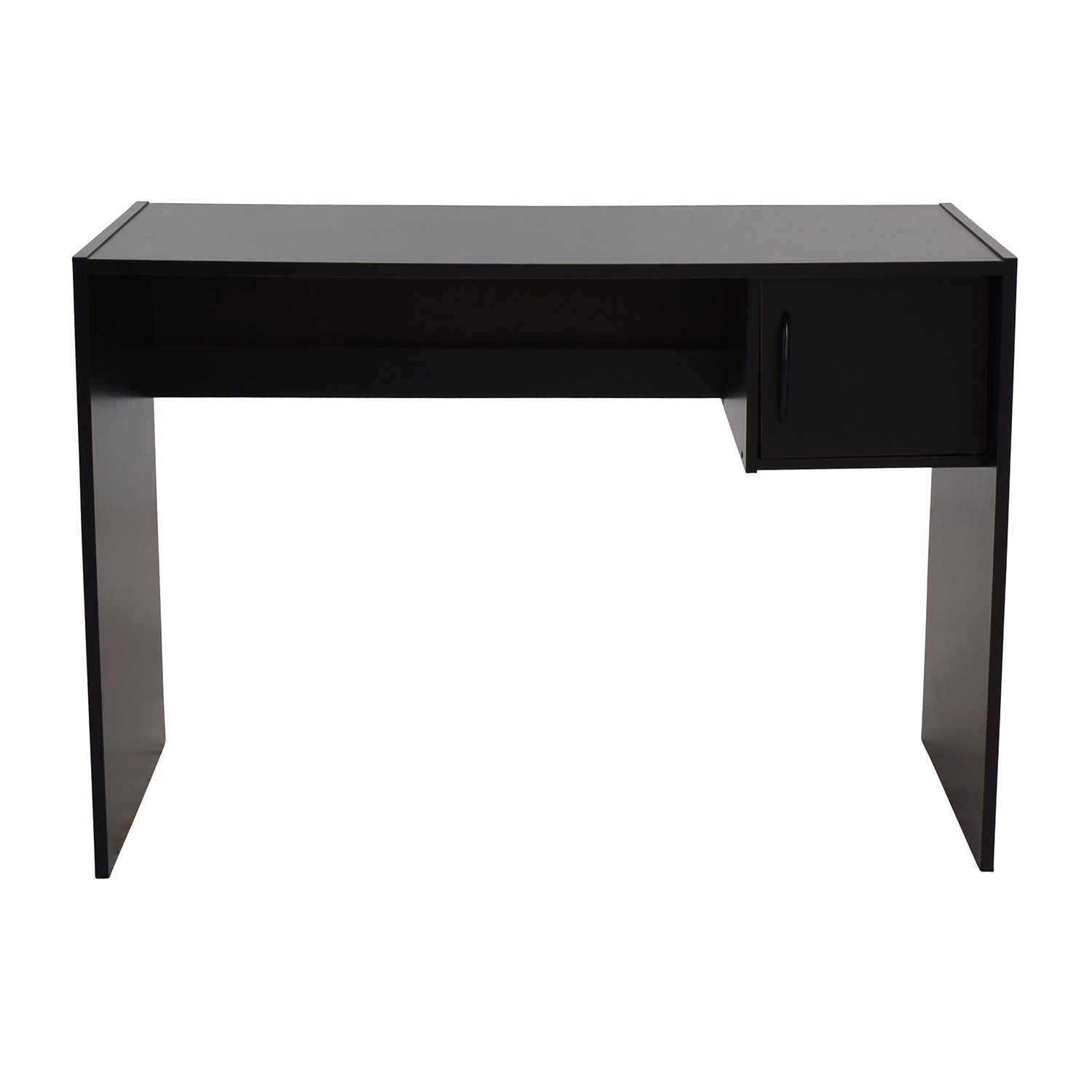 corner kristen p desk in computer shaped l black