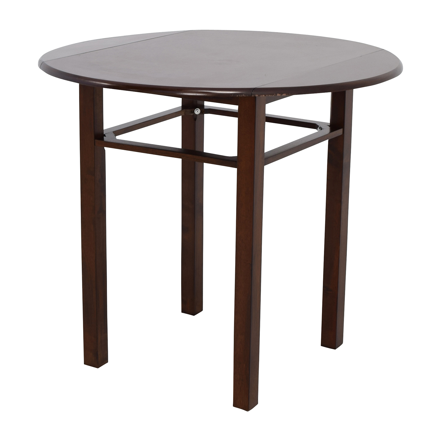80 off whalen whalen round drop leaf dining table tables for Round drop leaf dining table