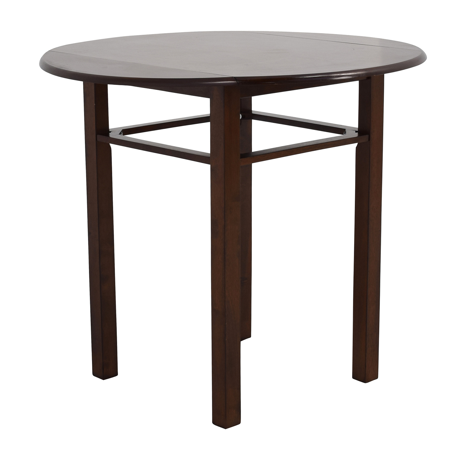 80 off whalen whalen round drop leaf dining table tables for Dining table with two leaves