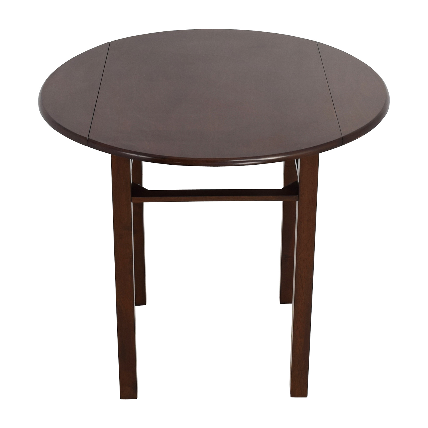 Whalen Whalen Round Drop Leaf Dining Table