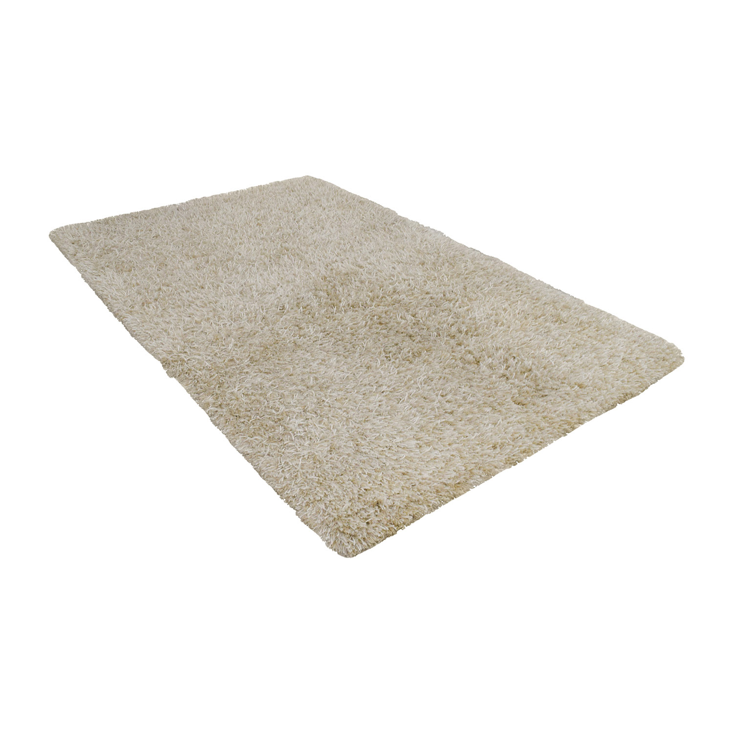 CB2 CB2 Drake Natural Shag Rug on sale