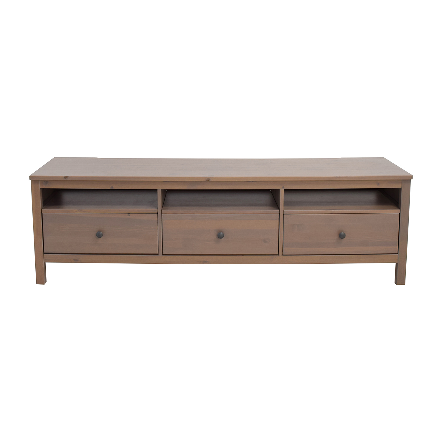 62 Off Ikea Ikea Hemnes Tv Unit With Drawers And Shelves Storage