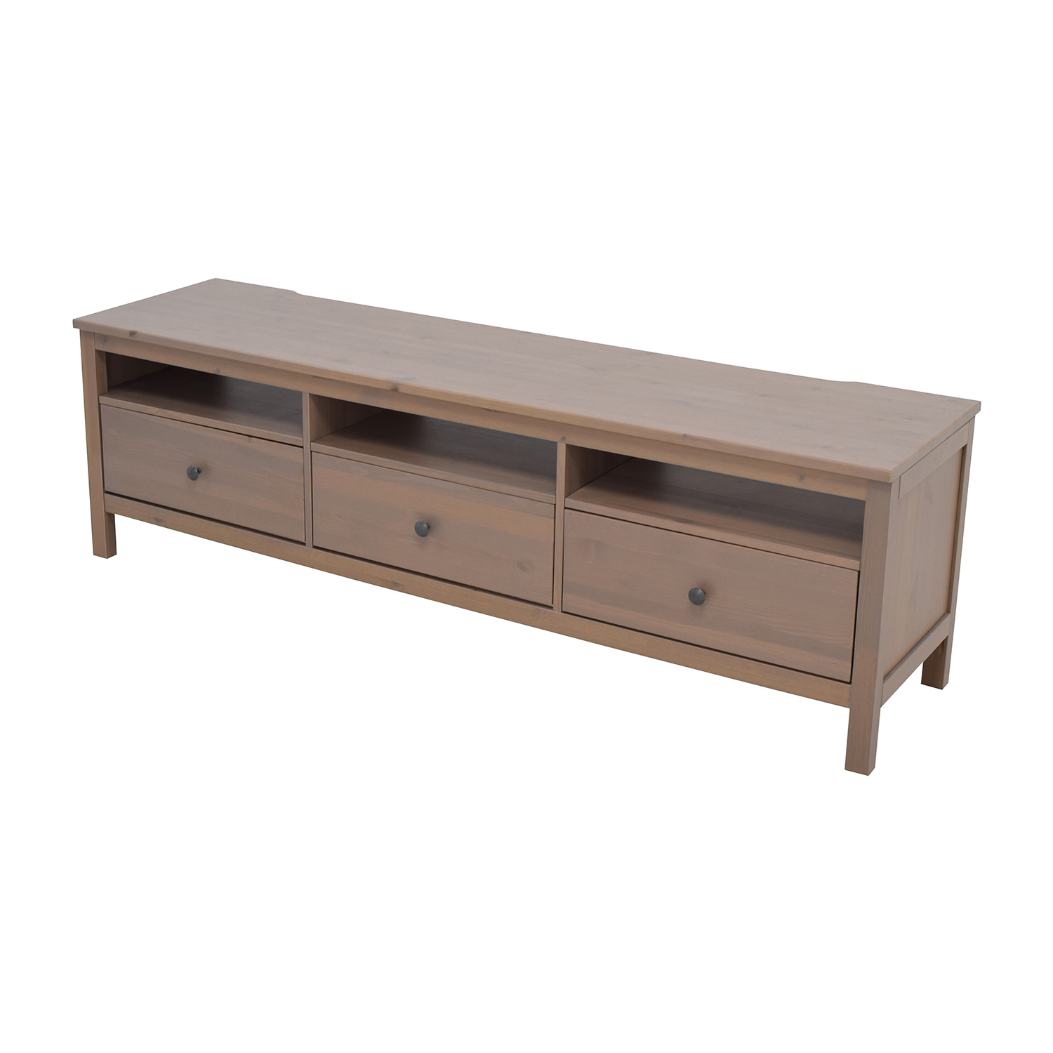 62 off ikea ikea hemnes tv unit with drawers and. Black Bedroom Furniture Sets. Home Design Ideas