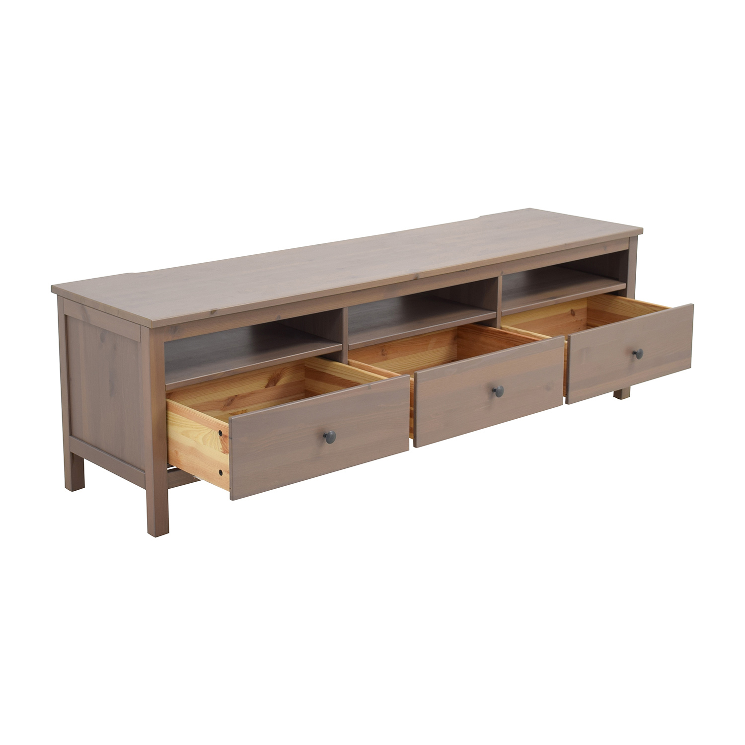 62% OFF - IKEA IKEA Hemnes TV Unit with Drawers and Shelves / Storage