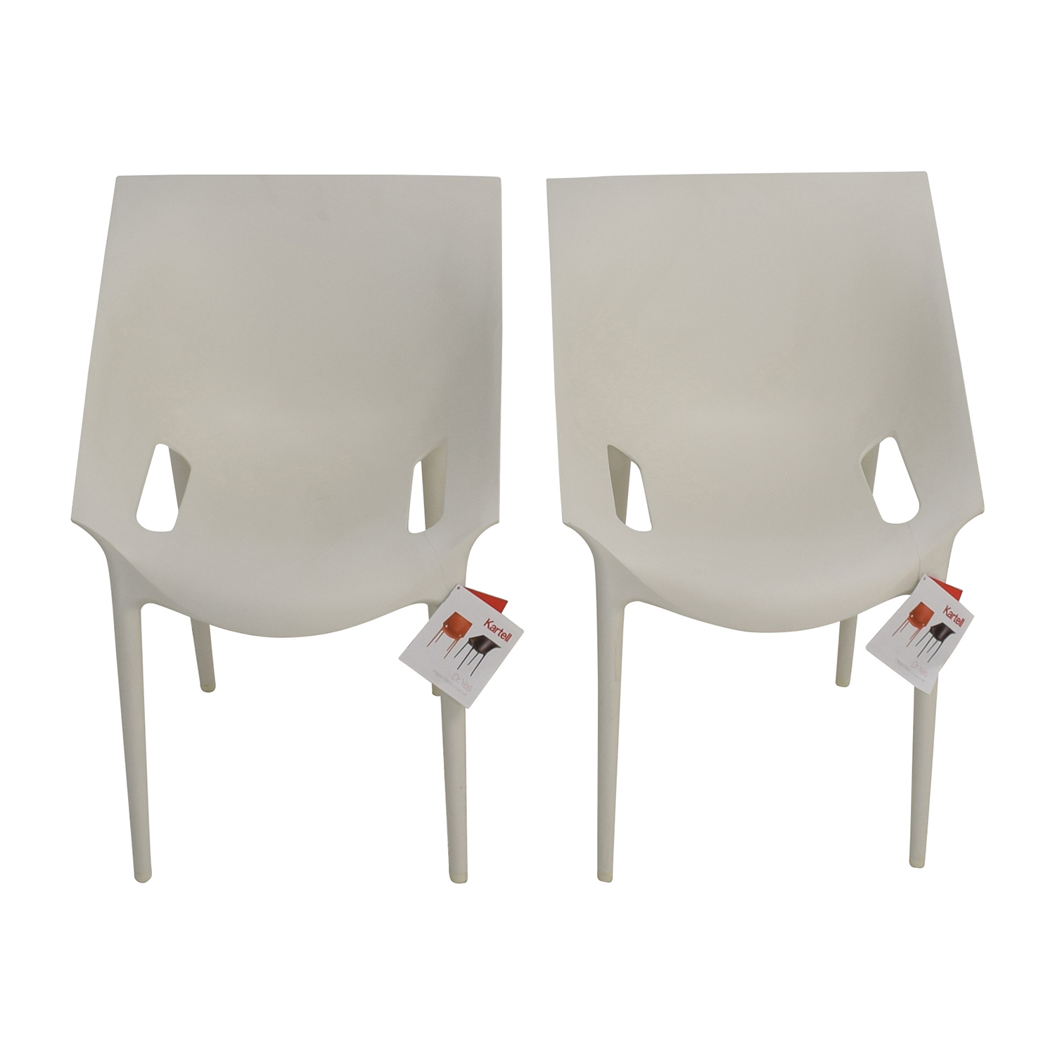 Kartell Kartell Dr Yes White Chairs discount