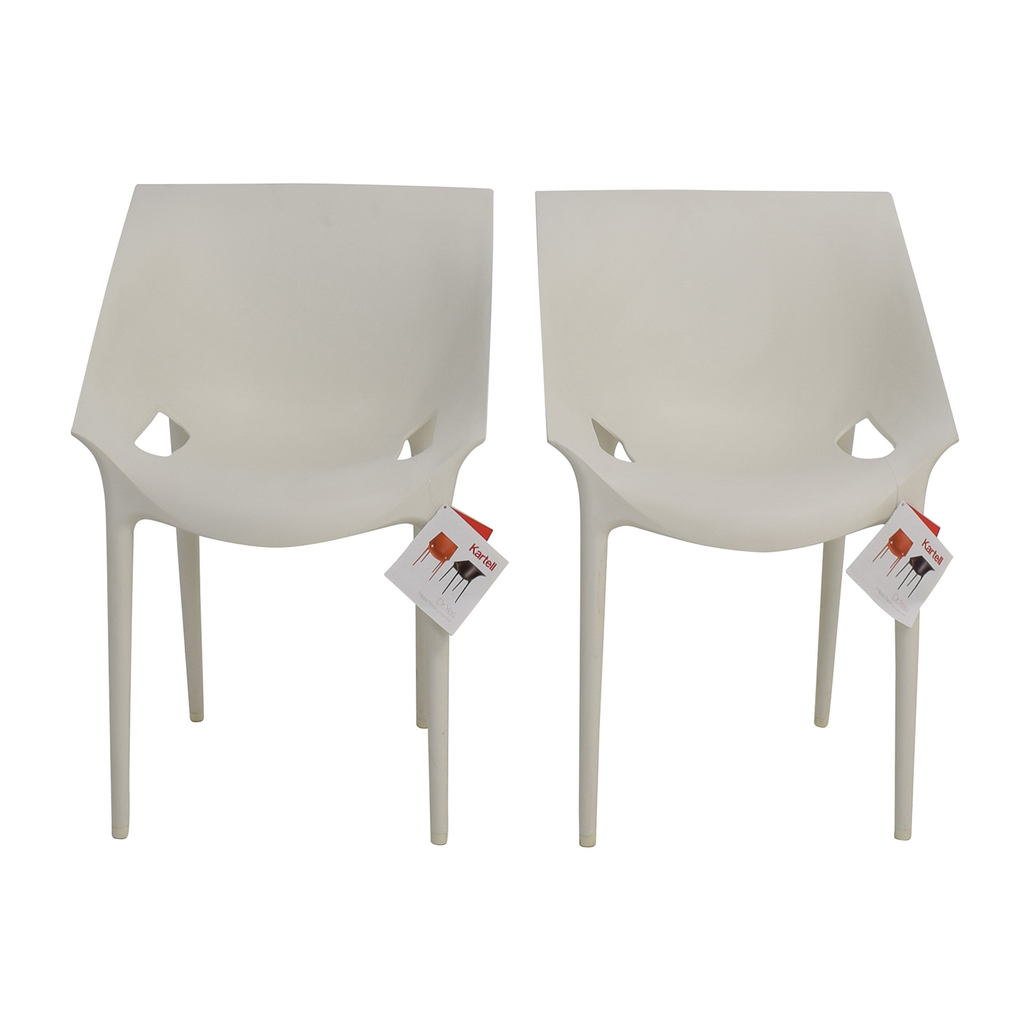 Kartell Kartell Dr Yes White Chairs White
