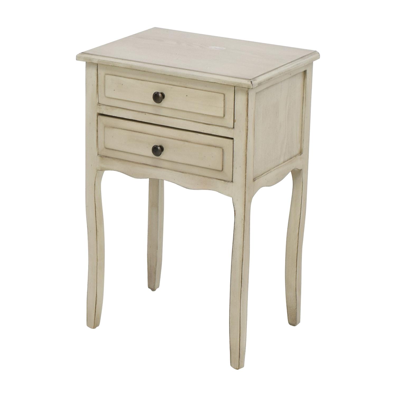 ... Safavieh Lori White Birch End Table / Tables ...