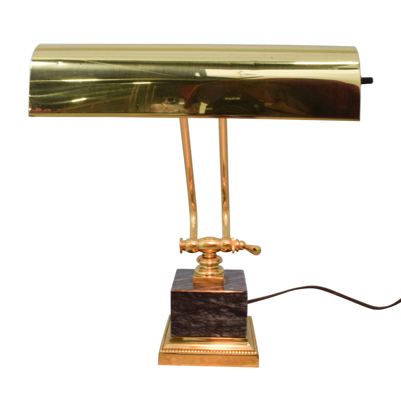 buy Underwriters Laboratories Inc Gold Metal Desk Lamp Underwriters Laboratories Inc Lamps