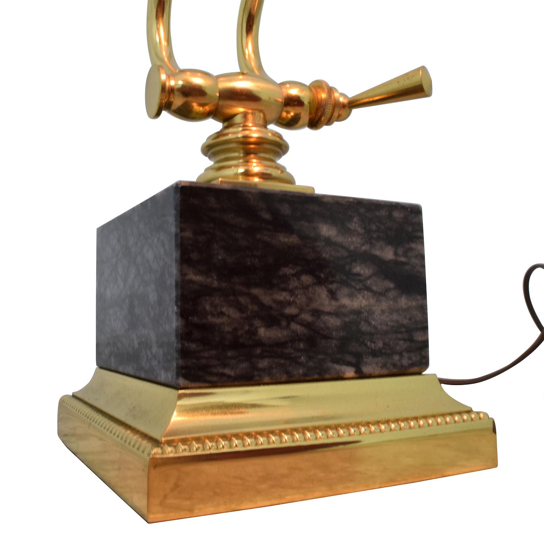 Underwriters Laboratories Inc Underwriters Laboratories Inc Gold Metal Desk Lamp nyc
