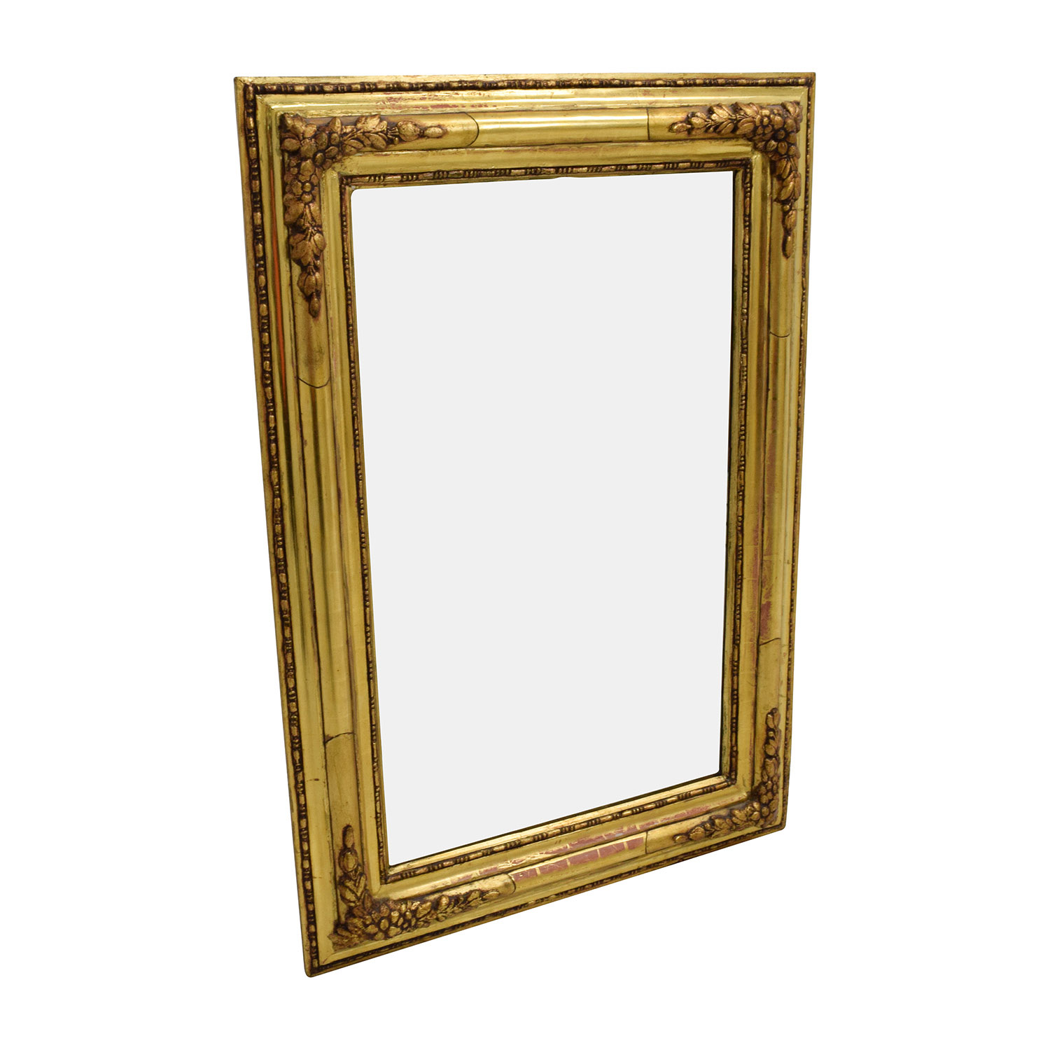 shop Gilt Edged Gold Frame Mirror  Decor