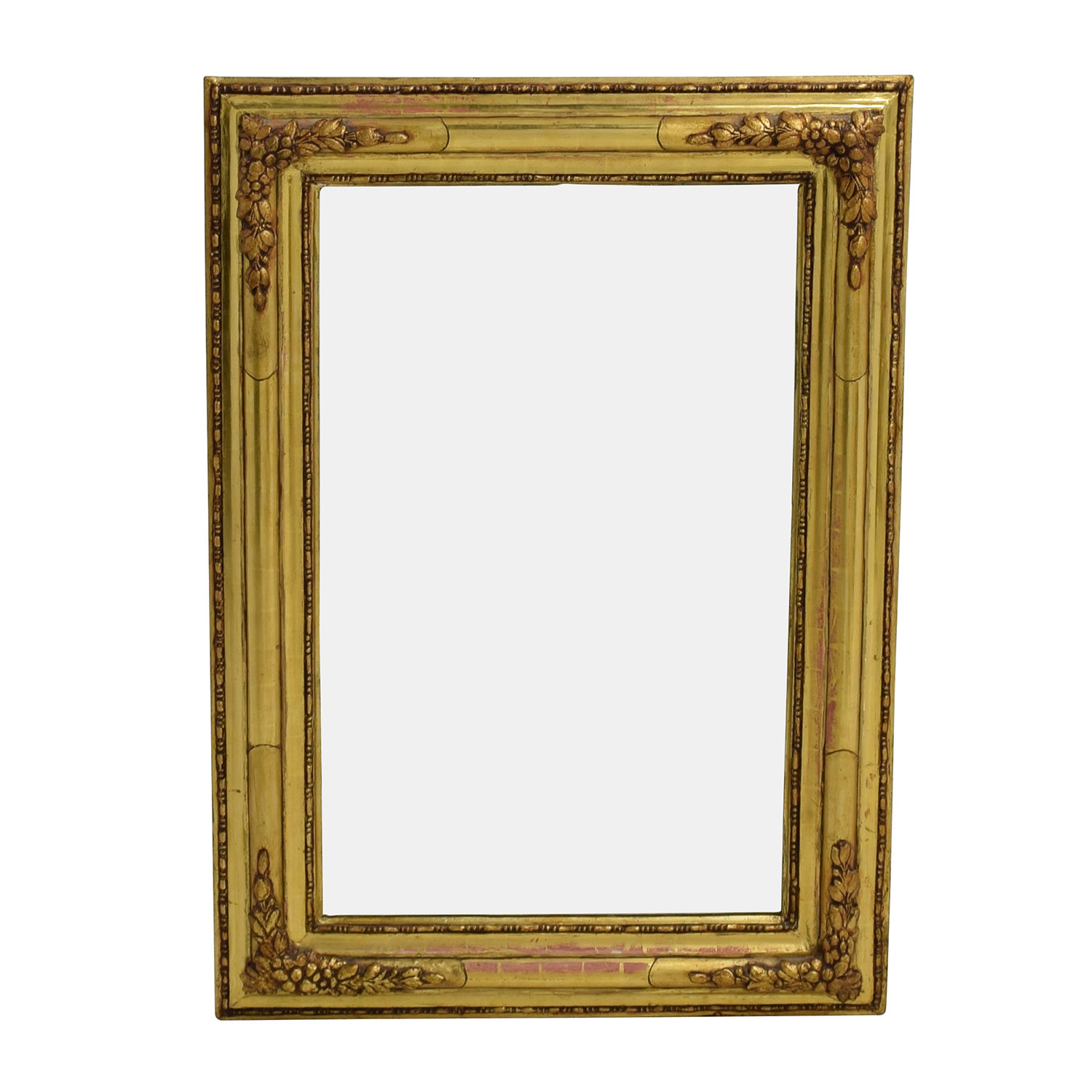 Gilt Edged Gold Frame Mirror second hand