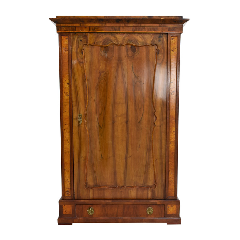 ABC Carpet and Home Wood Coat Closet Armoire sale
