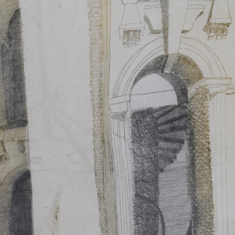 Alison Neville St Johns Square Print sale