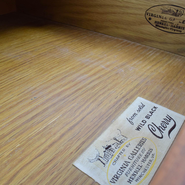 Virginia Galleries Antique Virginia Galleries Nine-Drawer Dresser used
