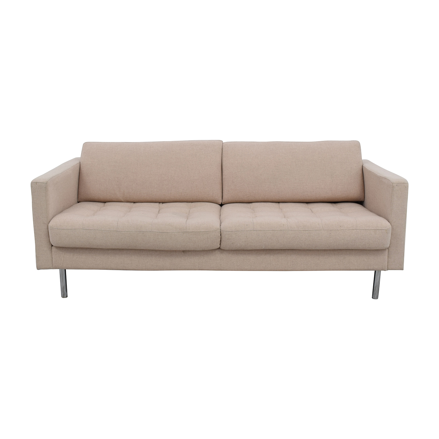 BoConcept BoConcept Carmo Sand Two Tufted Cushion Sofa Beige ...