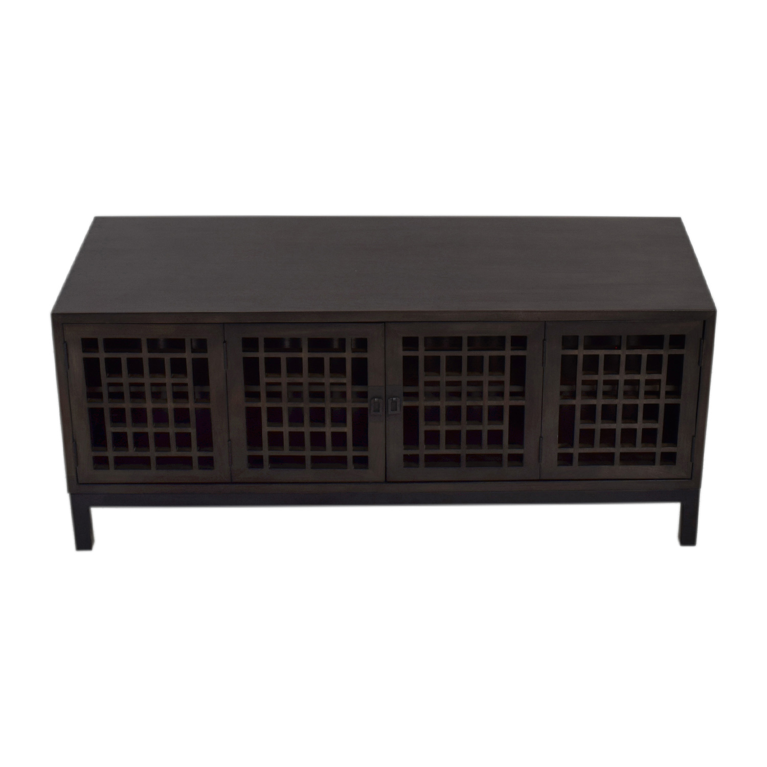 buy Room & Board Zen Wood Media Cabinet Room and Board Storage