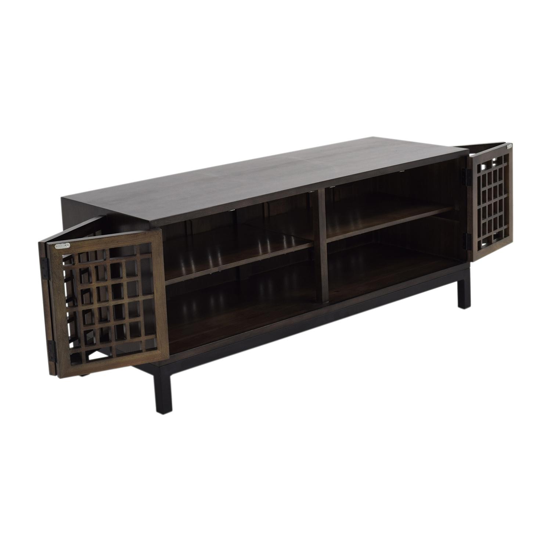 Room & Board Zen Wood Media Cabinet / Media Units