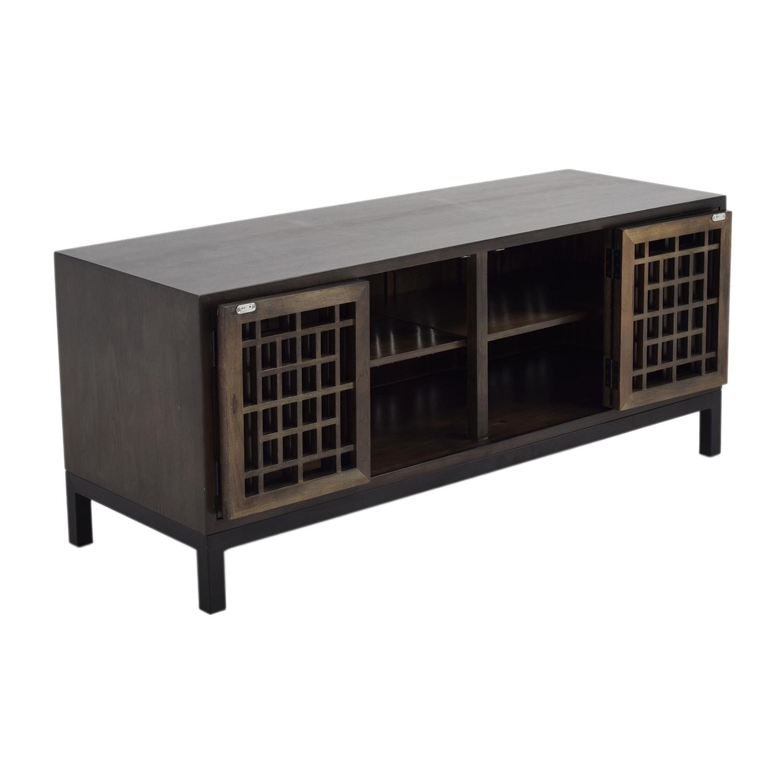 Room & Board Zen Wood Media Cabinet sale