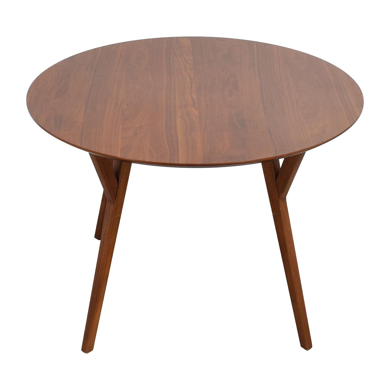 West Elm West Elm Eucalyptus Wood Dinner Table used