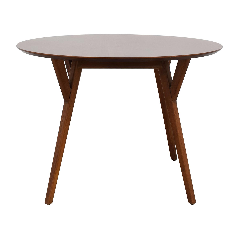 West Elm Eucalyptus Wood Dinner Table / Dinner Tables