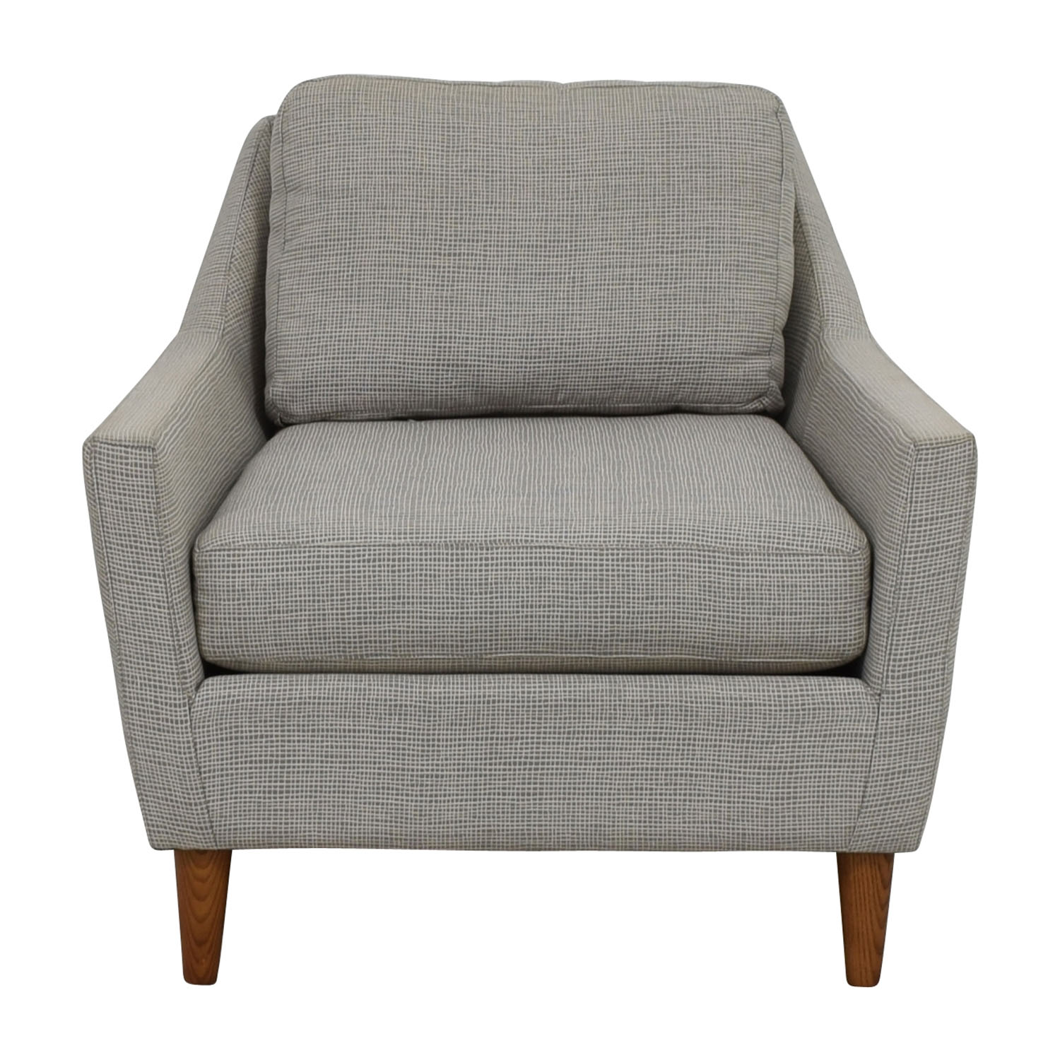 West Elm Chairs: West Elm West Elm Grey Everett Sofa Chair / Chairs