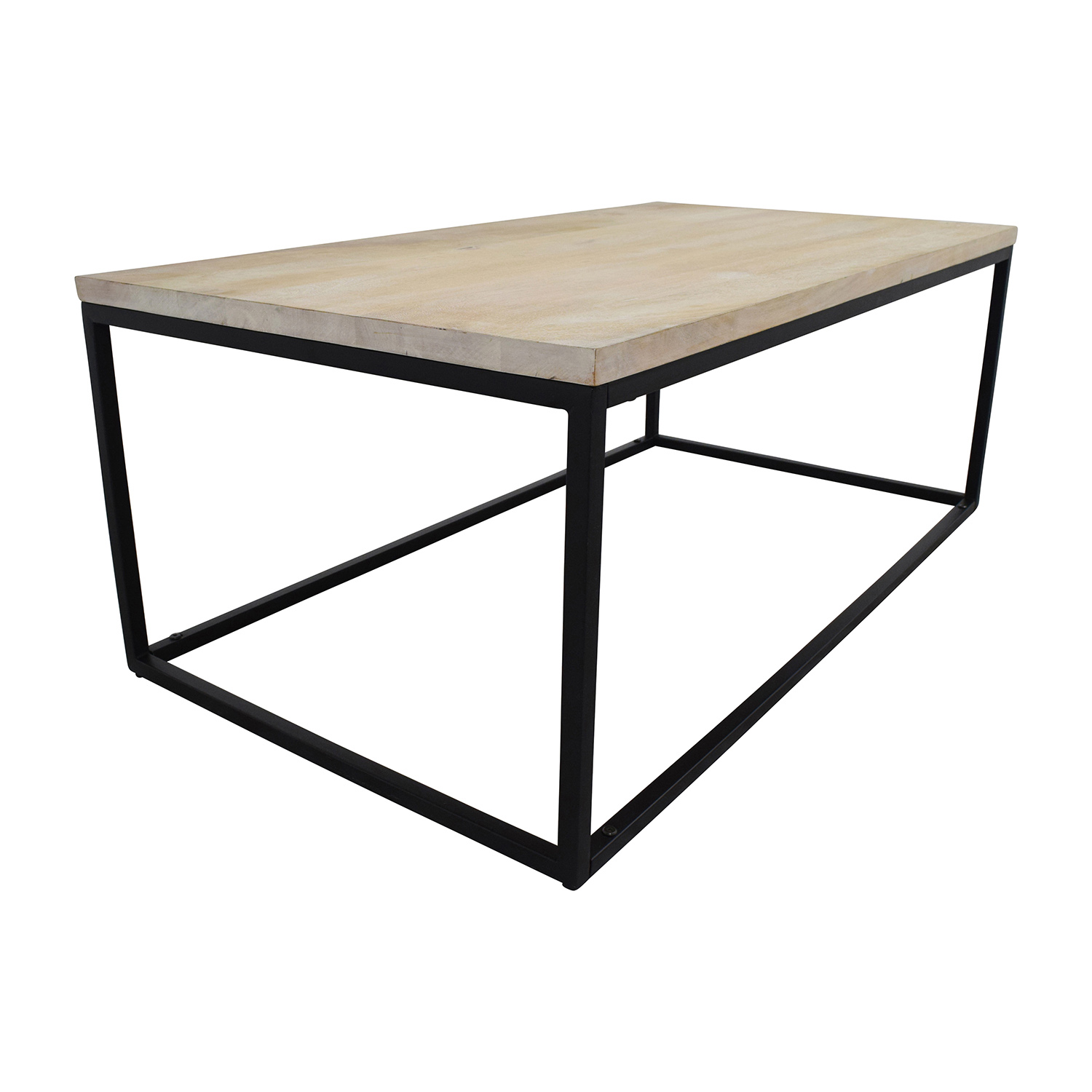 ... West Elm West Elm Box Frame Coffee Table White Wash Coffee Tables ...