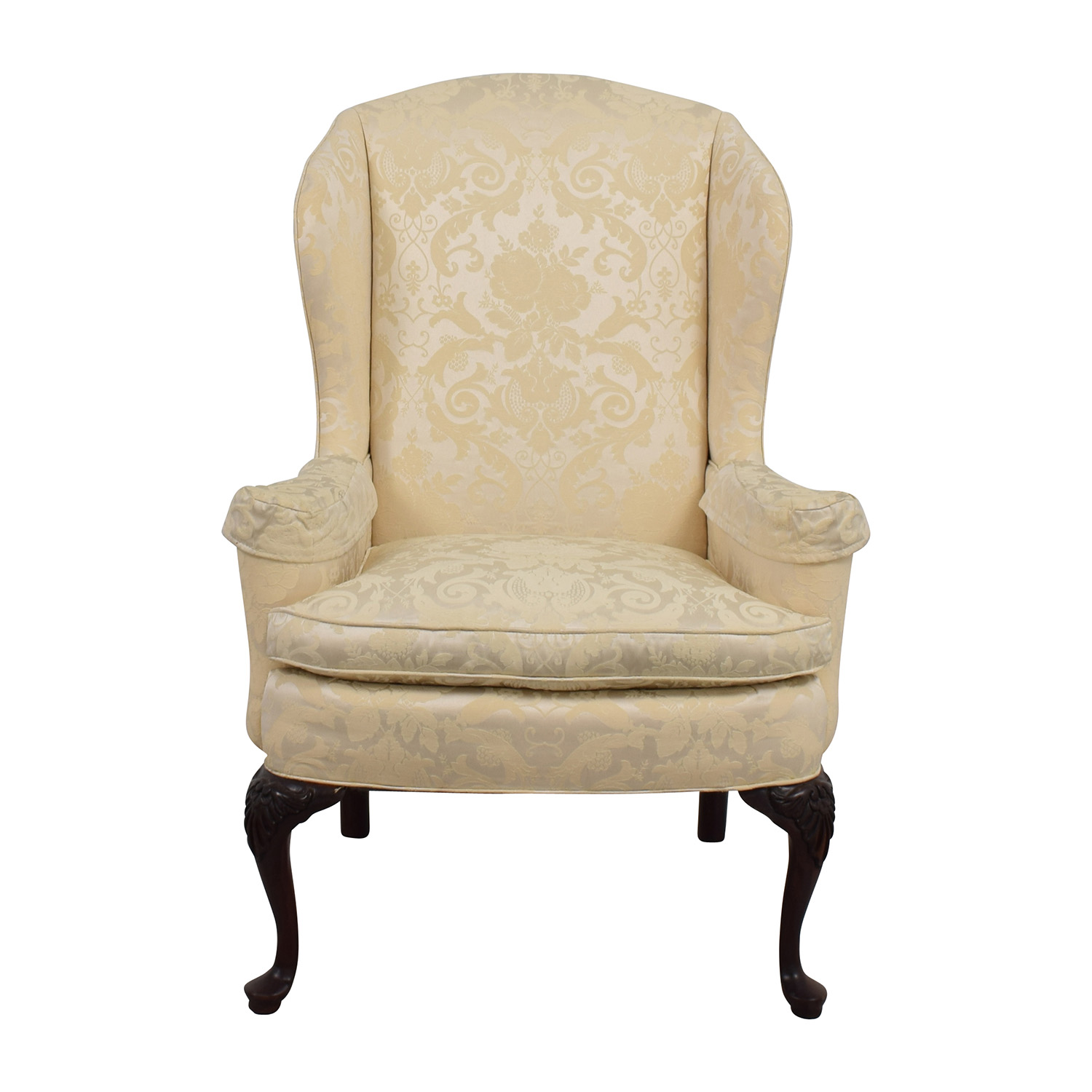 71% OFF Nicoletti Nicoletti Green Accent Chair Chairs