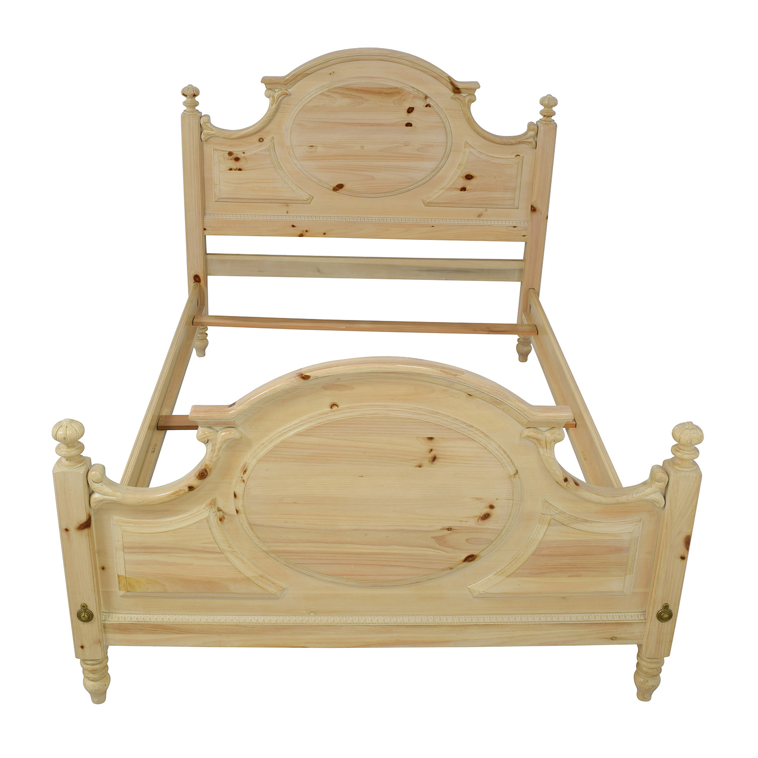 Link Taylor Link Taylor Natural Wood Queen Bed Frame nyc