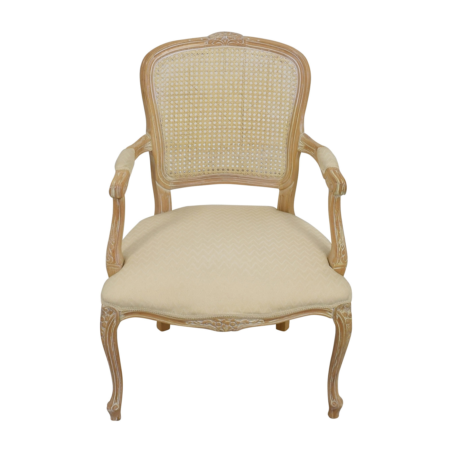 Link Taylor French Provincial Creme Chair Chairs